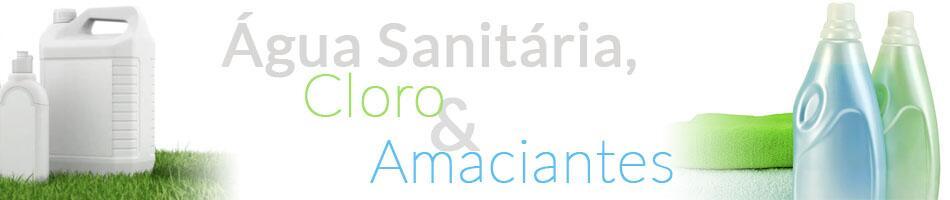 Água Sanitária, Cloro e Amaciantes