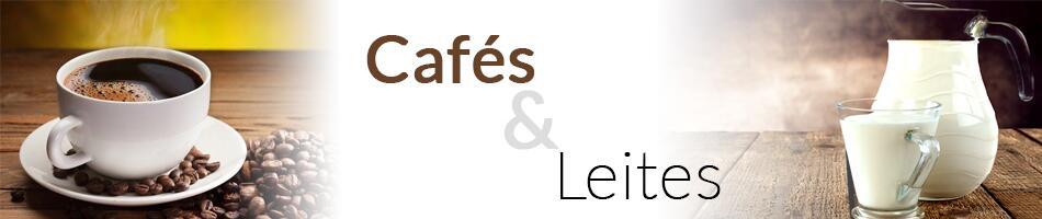Cafés e Leites