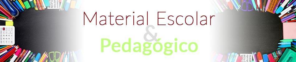 Material Escolar e Pedagógico