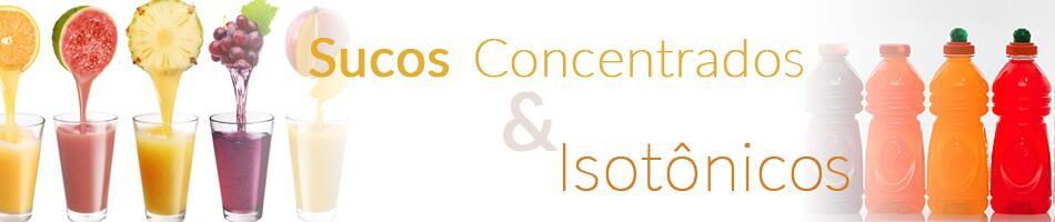 Sucos Concentrados e Isotônicos
