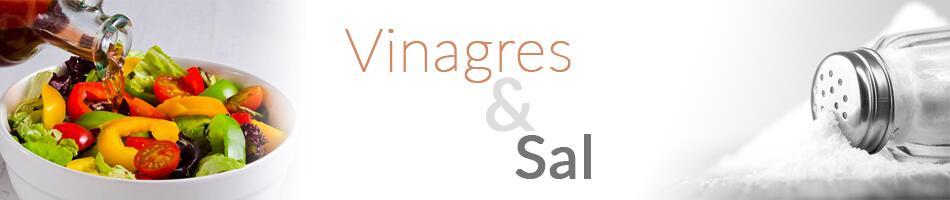 Vinagres e Sal