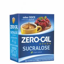 Adoçante Sucralose Sache Zero Cal com 50un