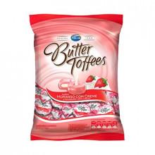 bala Butter Toffees Morango com Creme