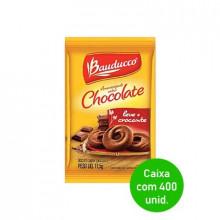 Biscoito Amanteigado Chocolate Bauducco Sachê 11,5g - Caixa com 400