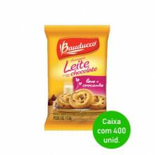 Biscoito Amanteigado Gotas de Chocolate Bauducco Sachê 11,5g - Caixa com 400