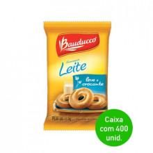 Biscoito Amanteigado Leite Bauducco Sache 11,5g - Caixa com 400