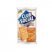 Biscoito Integral Club Social 144g