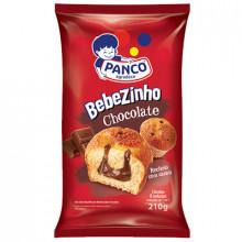 Bolinho Bebezinho Chocolate Panco - Pacote com 6 unidades
