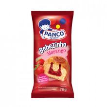 Bolinho Bebezinho Morango Panco - Pacote com 2 Unidades