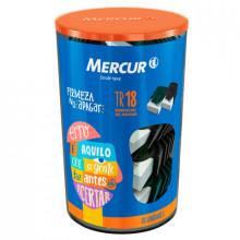 Borracha Plastica Branca TR Big Mercur - Pote com 18 Unidades