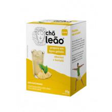 Chá Abacaxi e Hortelã de Preparo Gelado Leão com 10 sachês