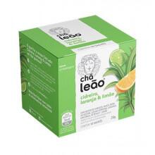 Chá Cidreira, Limão e Laranja Leão com 15 Saches