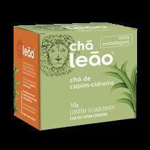 Chá de Capim Cidreira Leão com 10 Saquinhos