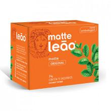 Chá Matte Natural Leão com 15 Saches
