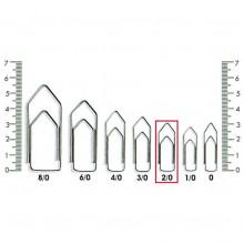 Clips N° 2-0 Kaz - Caixa com 500g