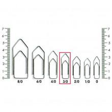 Clips N° 3-0 Kaz - Caixa com 500g