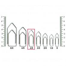 Clips N° 4-0 Kaz - Caixa com 500g