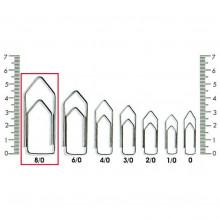 Clips N° 8-0 Kaz - Caixa com 500g