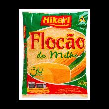 Farinha Flocão de Milho Hikari 500g