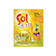 Gelatina Sol Sabor Abacaxi 35g