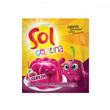 Gelatina Sol Sabor Cereja 35g