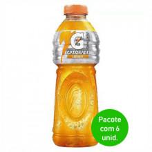 Isotonico Gatorade Laranja 500ml - Pacote com 6 Unidades