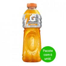 Isotonico Tangerina Gatorade 500ml - Pacote com 6 Unidades