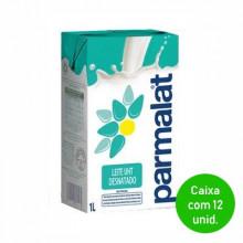 Leite UHT Desnatado Parmalat 1 Litro - Caixa com 12 Unidades
