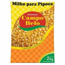 Milho de Pipoca Campo Belo - Pacote com 2Kg