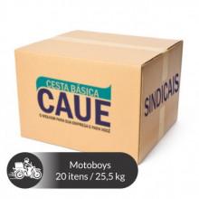 Cesta Básica Motoboy - 20 Itens / 25,5Kg