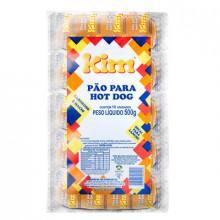 Pão de Hot Dog Kim - Pacote com 10 Unidades