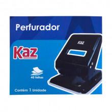 Perfurador de Papel Kaz - 2 Furos para 40 Folhas
