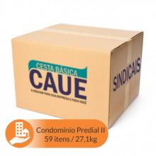 Cesta Básica Condominio Predial II - 59 Itens / 27,1Kg