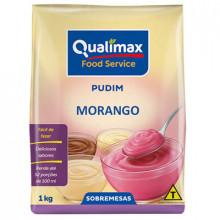 Pudim Morango Qualimax - 1kg