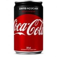 Refrigerante Coca Cola zero Mini Lata 220ml
