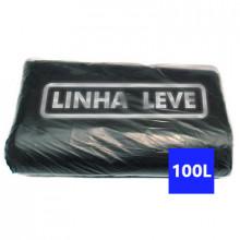 Saco para Lixo Leve 100 Litros - Fardo com 100 Unidades