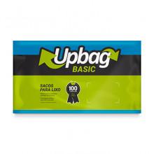 Saco para Lixo Up Bag Basic Azul 15L pacote com 50 Unidades