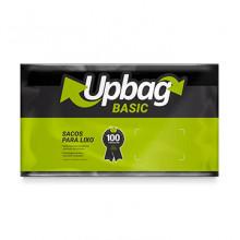 Saco para Lixo Up Bag Basic Preto 30L pacote com 50 Unidades