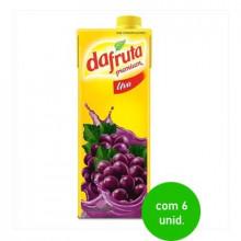 Suco de Uva Dafruta 1 litro  -  com 6 Unidades