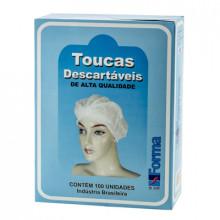 Touca Descartável - Pacote com 100 Unidades