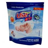 Lenços Umedecidos Use It Baby - Refil com 400 Unidades