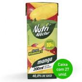 Suco Nutri Néctar de Manga 200ml - Caixa com 27 Unidades