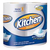 Toalha de Papel para Cozinha Kitchen - Pacote com 2 Rolos