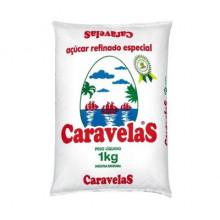 Açúcar Refinado Caravelas - 1Kg