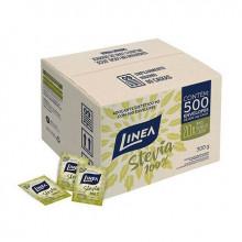 adoçante linea stevia caixa com 500 unidades