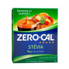 Adoçante Stevia Sache Zero Cal com 50un
