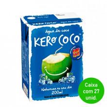 Água de Coco Kero Coco 200ml - Caixa com 27 Unidades