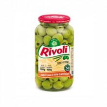 Azeitona Verde sem Caroço Rivoli - 400g