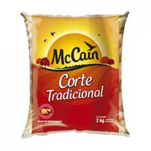 Batata Palito Congelada McCain - Pacote com 2 Kg