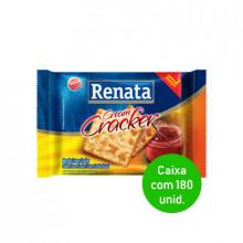 Biscoito Cream Cracker Renata Sachê 22g - Caixa com 180